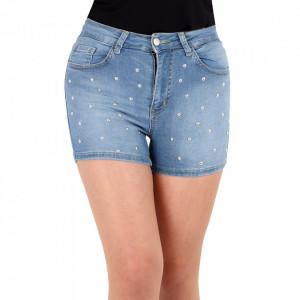 Pantaloni scurți pentru dame cod PS03 Blue