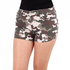 Pantaloni scurți pentru dame cod PS07 Army