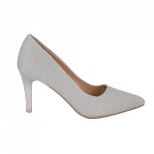 Pantofi cu toc 920-15 Silver