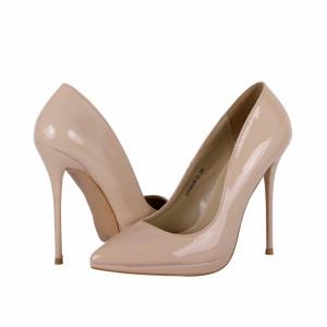 Pantofi cu toc cod HR96080 Nude