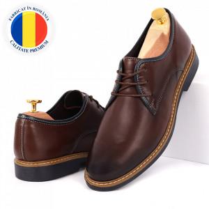 Pantofi din piele naturală Alex Maro