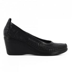 Pantofi din piele naturală cod 120793 N