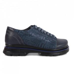 Pantofi din piele naturală cod 14235 ABS-S