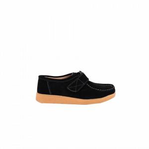 Pantofi din piele naturală cod 8518-1 Negri - Pantofii îți transformă limbajul corpului și atitudinea. Te înalță fizic și psihic!  Pantofi pentru dame din piele naturală  Talpă ortopedică flexibilă și un calapod comod - Deppo.ro