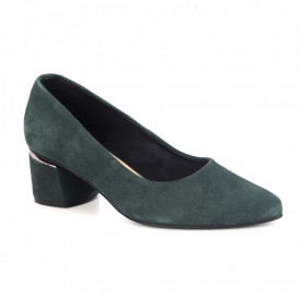 Pantofi din piele naturală cod B208 Green