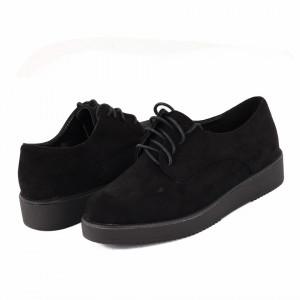 Pantofi Din Piele Naturală Kali Black