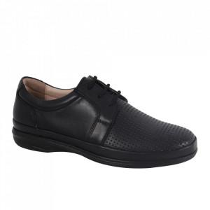 Pantofi din piele naturală pentru bărbați cod 3500-2 Siyah