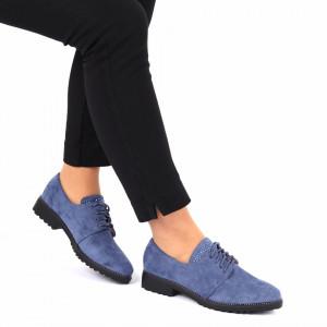 Pantofi Janessa Blue