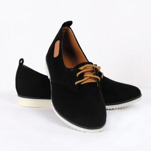 Pantofi pentru dame Cod B0001 Negri - Pantofii îți transformă limbajul corpului și atitudinea. Te înalță fizic și psihic! Pantofi pentru dame din piele ecologică lăcuită - Deppo.ro