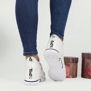 Pantofi Sport Cod 678 - Pantofi sport dinpânză și piele ecologică  Foarte comfortabili - Deppo.ro
