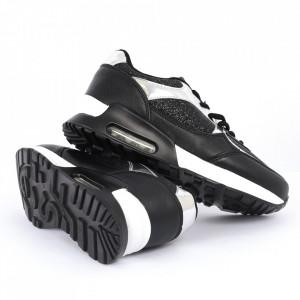 Pantofi Sport Cod 6910 - Pantofi sport din piele ecologică cu platformă  Închidere prin șiret  Model cu sclipici  Foarte comfortabili - Deppo.ro