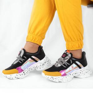 Pantofi Sport cod ABC303 Negri