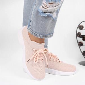 Pantofi Sport Nicole Cod 6624 - Pantofi sport din pânză Închidere prin șiret Foarte comfortabili - Deppo.ro