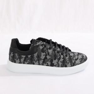 Pantofi Sport pentru bărbați cod 387 Camo Black