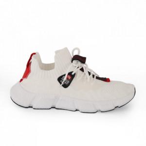 Pantofi sport pentru bărbați cod 7777 White