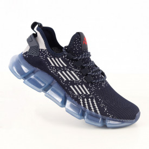 Pantofi sport pentru bărbați cod A02-2 Navy