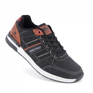 Pantofi sport pentru bărbați cod ARD1017-1 Black