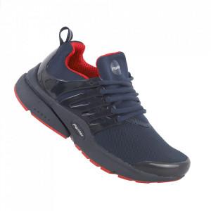 Pantofi sport pentru dame cod A68-1 Navy/Red