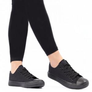 Pantofi sport pentru dame Cod B110D Black