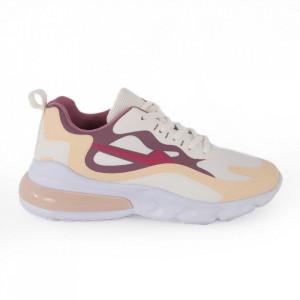 Pantofi sport pentru dame cod F26-4 White