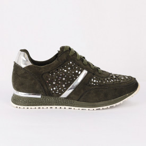 Pantofi Sport Taniya Cod 445 - Pantofi sport din piele ecologică întoarsă  Model cu ștrasuri  Foarte comfortabili - Deppo.ro