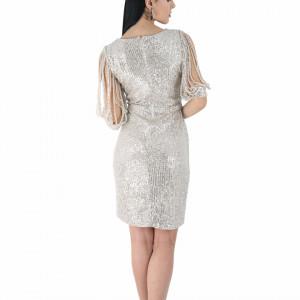 Rochie Elane Grey - Rochie elegantă cu paiete, simte-te atrăgătoare purtând această rochie și strălucește la urmatoarea petrecere. - Deppo.ro