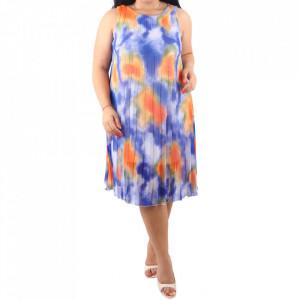 Rochie Evi Blue/Orange