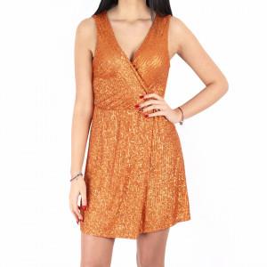 Rochie Fely Orange
