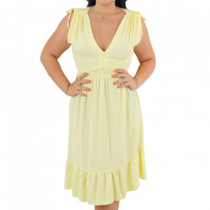Rochie Selina Yellow