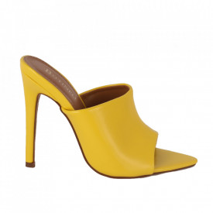 Saboți pentru dame cod OD0251 Yellow