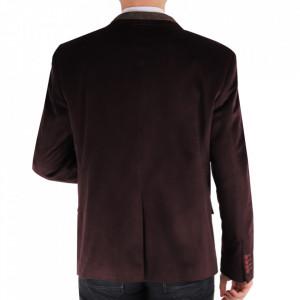 Sacou SC-175 Bordo - Ideal pentru o ținută casual de zi care poate fii purtat atât cu cămașă cât și cu helancă Compoziție: 85% bumbac, 15% polyester - Deppo.ro