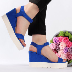 Sandale cod 1063 Blue
