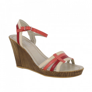 Sandale din piele naturală cod 199 Corai