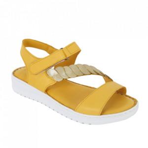 Sandale din piele naturală cod 602 Sari