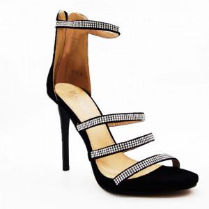 Sandale Negre Cod L101