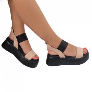 Sandale pentru dame cod 22180-2A Khaki