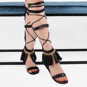 Sandale pentru dame cod 6520 Black