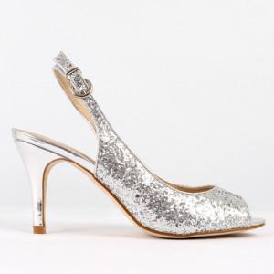 Sandale pentru dame cod 8T8555 Silver