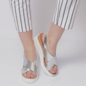 Sandale pentru dame cod AG-042 Silver