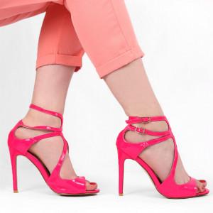 Sandale pentru dame cod B5655 Pink