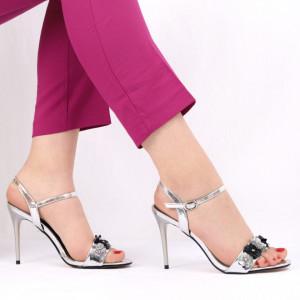 Sandale pentru dame cod BF0681 Silver