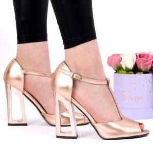Sandale pentru dame cod C19 Rose Gold