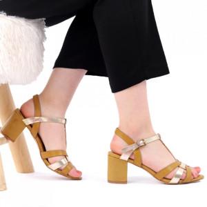 Sandale pentru dame cod CD04 Brown