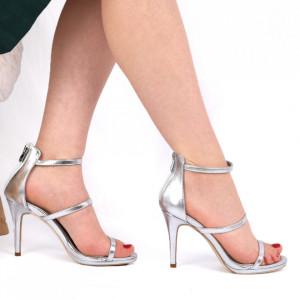Sandale pentru dame cod EK0069 Silver