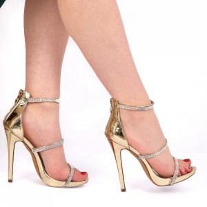 Sandale pentru dame cod FS508 Gold