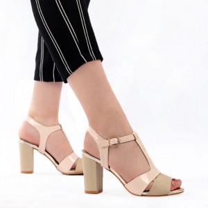 Sandale pentru dame cod J20 Beige