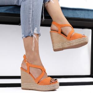 Sandale pentru dame cod JM220J Orange