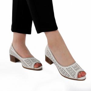 Sandale pentru dame cod P90 Albe
