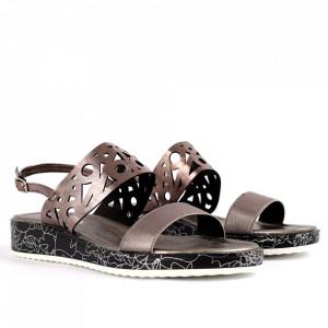 Sandale pentru dame cod P97 Silver