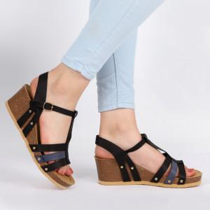 Sandale pentru dame cod T6T50 Black